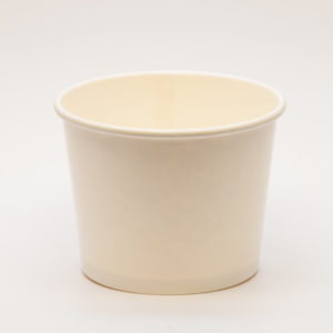 White Ice-Cream Tub - 12oz