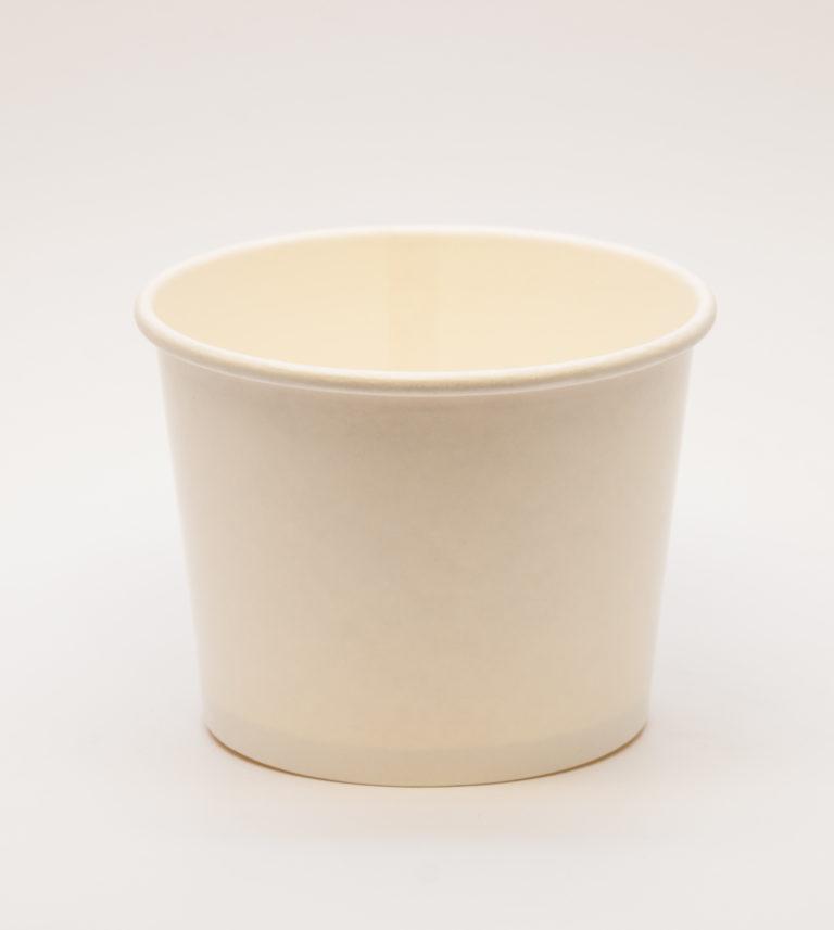 White Ice-Cream Tub - 12oz