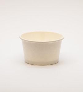 White Ice-Cream Tub - 4oz