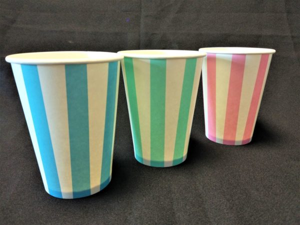 Candy Stripe Paper Cup