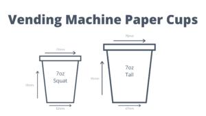 Vending Machine Paper Cups