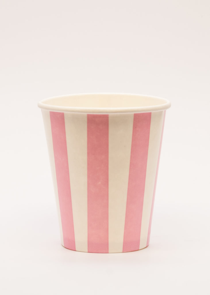Candy Striped Cups Paper Cup Company