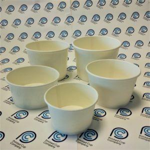 White Ice Cream Cup