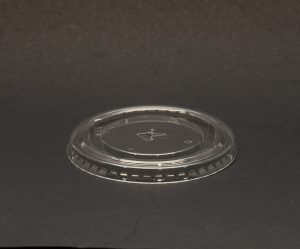 Straw Slot Lids For Plastic Cups
