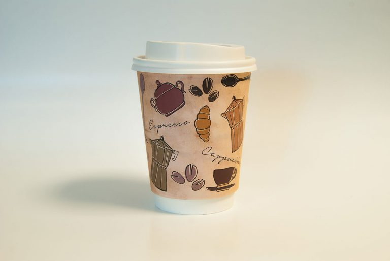 Paper Cup Coffee design