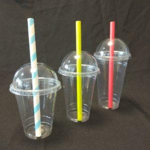 Plastic Cups Dome Lids