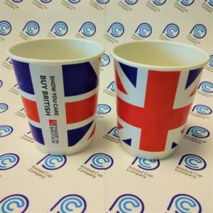 Union Jack Paper Cup