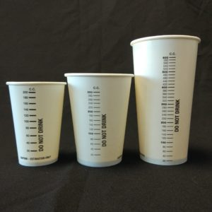 Measuring Cups Paper Cups