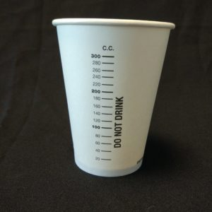 300cc Measuring Cup Paper Cup