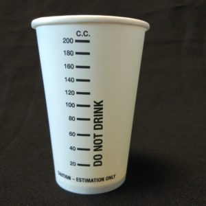200cc Measuring Cup Paper Cup