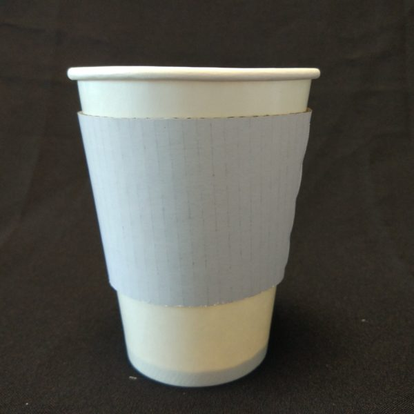 12oz Coffee Paper Cup Sleeve