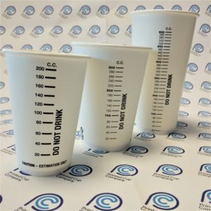 Measuring Cup Paper Cups