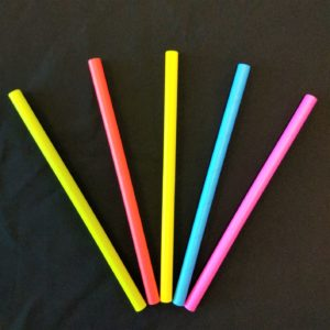 Paper Straws - Neon