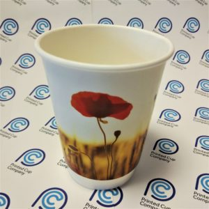 Remembrance Day Paper Cup