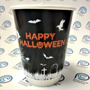 Happy Halloween Paper Cups