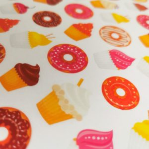 Donuts & Cupcakes Greaseproof Paper