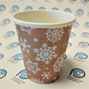 Snowflake Paper Cups