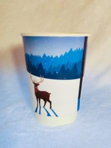 Christmas Deer Paper Cup