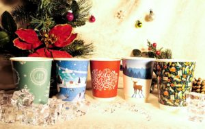 Christmas Paper Cups