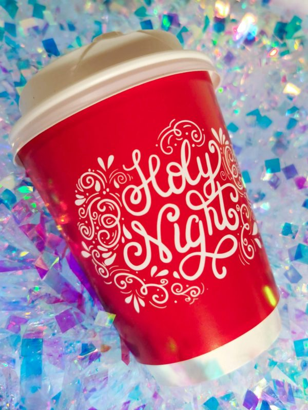 Holy Night Christmas Paper Cup