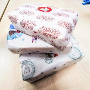 Christmas Greaseproof Paper