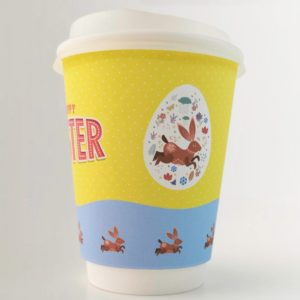 Happy Easter Paper Cup