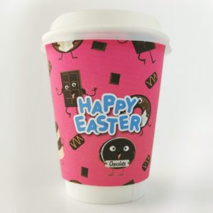 Easter Chocoholic Paper Cups