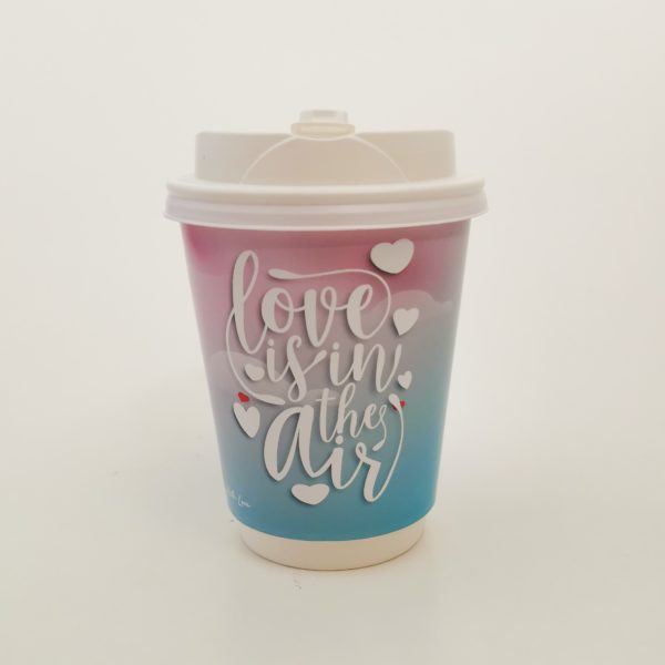 love is in the air paper cup