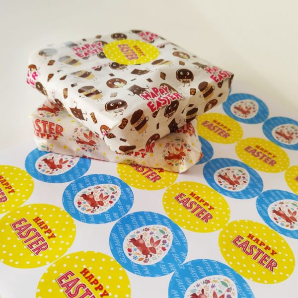 Greaseproof Paper & Stickers