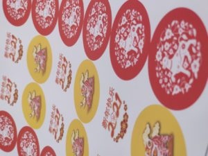Chinese New Year Printed Stickers