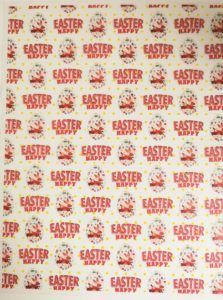 Happy Easter Bunny Greaseproof Paper