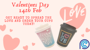 Valentines Day Paper Cups