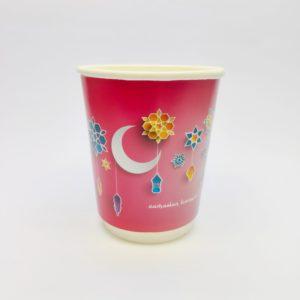 8oz Ramadan Paper Cups in Pink