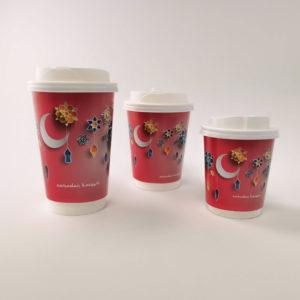 Ramadan Paper Cups in Pink