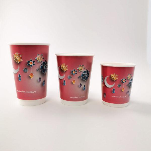 Ramadan Printed Paper Cups