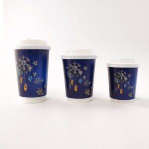 Ramadan Paper Cups in Blue
