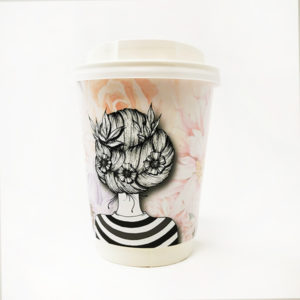 Be Beautiful Printed Paper Cup