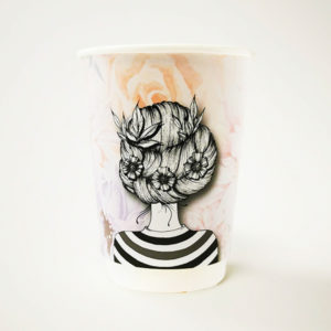 Be Beautiful Paper Cup