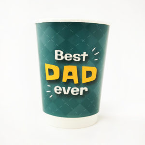 Best Dad Ever Paper Cups