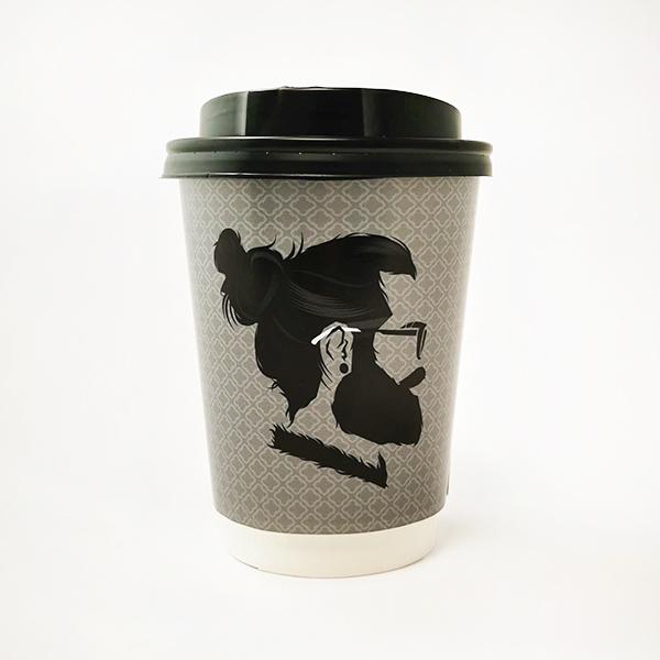 Man Bun Paper Cups