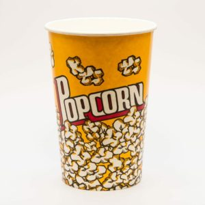 46oz Popcorn Bucket - Printed square