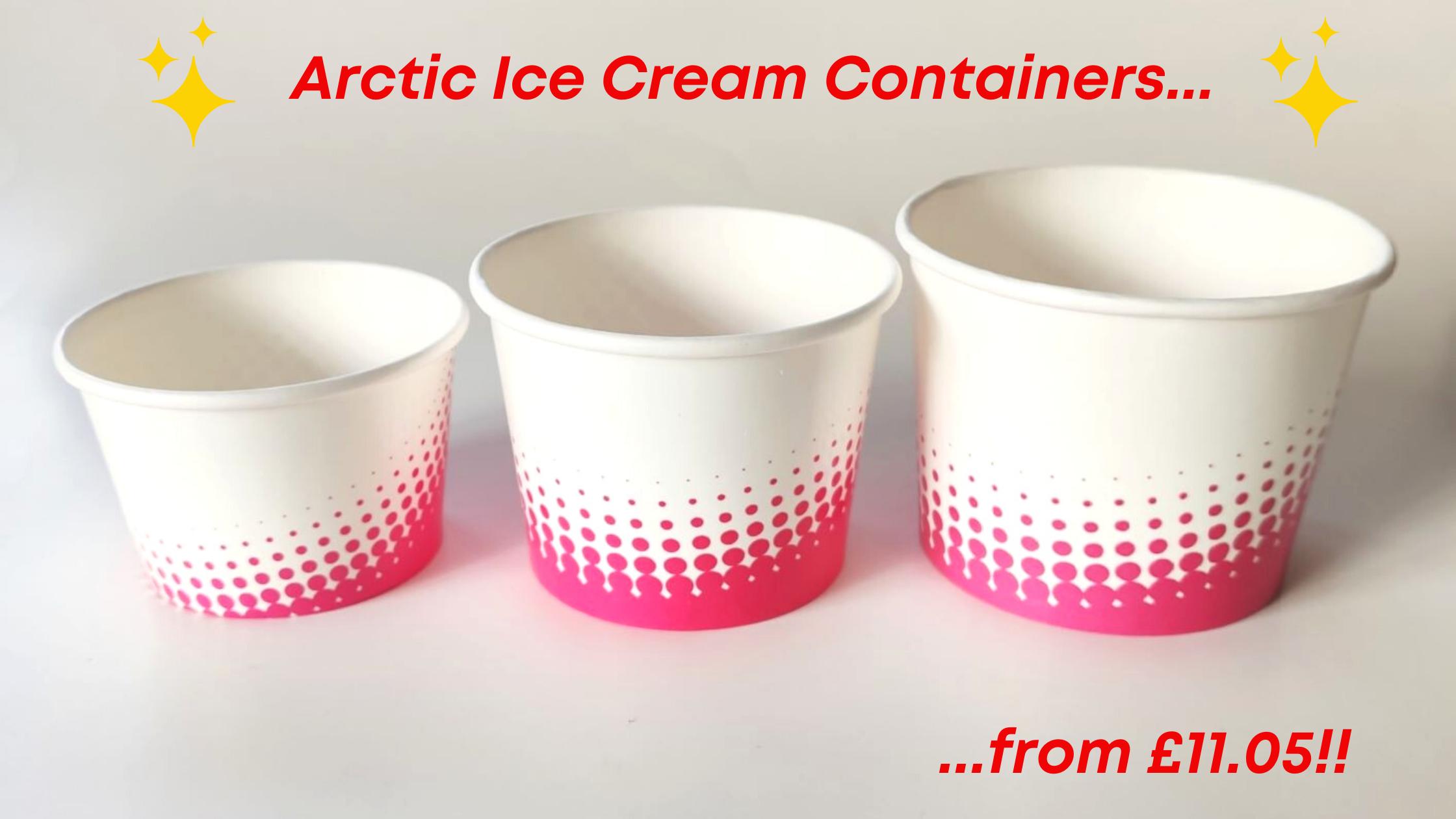 Arctic Ice Cream Cups