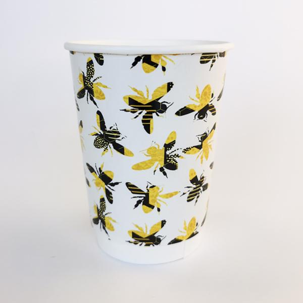 Honey Bee Paper Cup