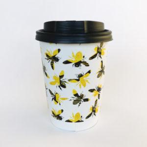 Honey Bee Printed Paper Cups