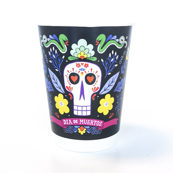 Day Of The Dead Halloween Paper Cup