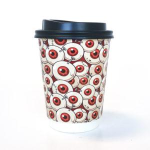 Halloween Eyeballs Paper Cup