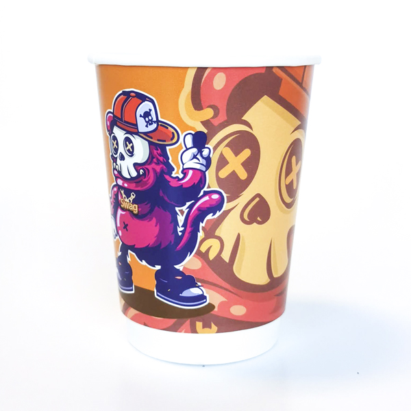 Steampunk Halloween Paper Cup