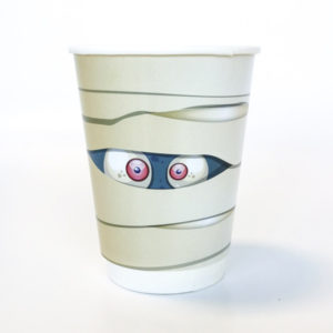 Halloween Mummy Paper Cup